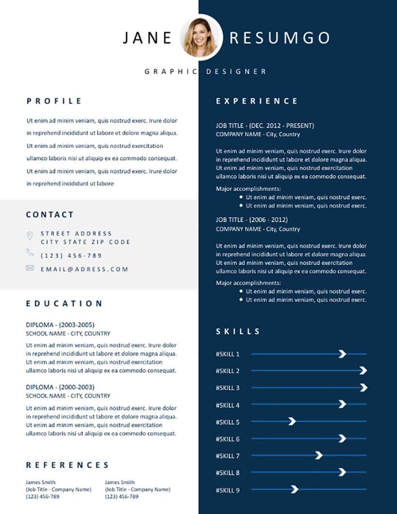 Elethea - Free Resume Template - RESUMGO