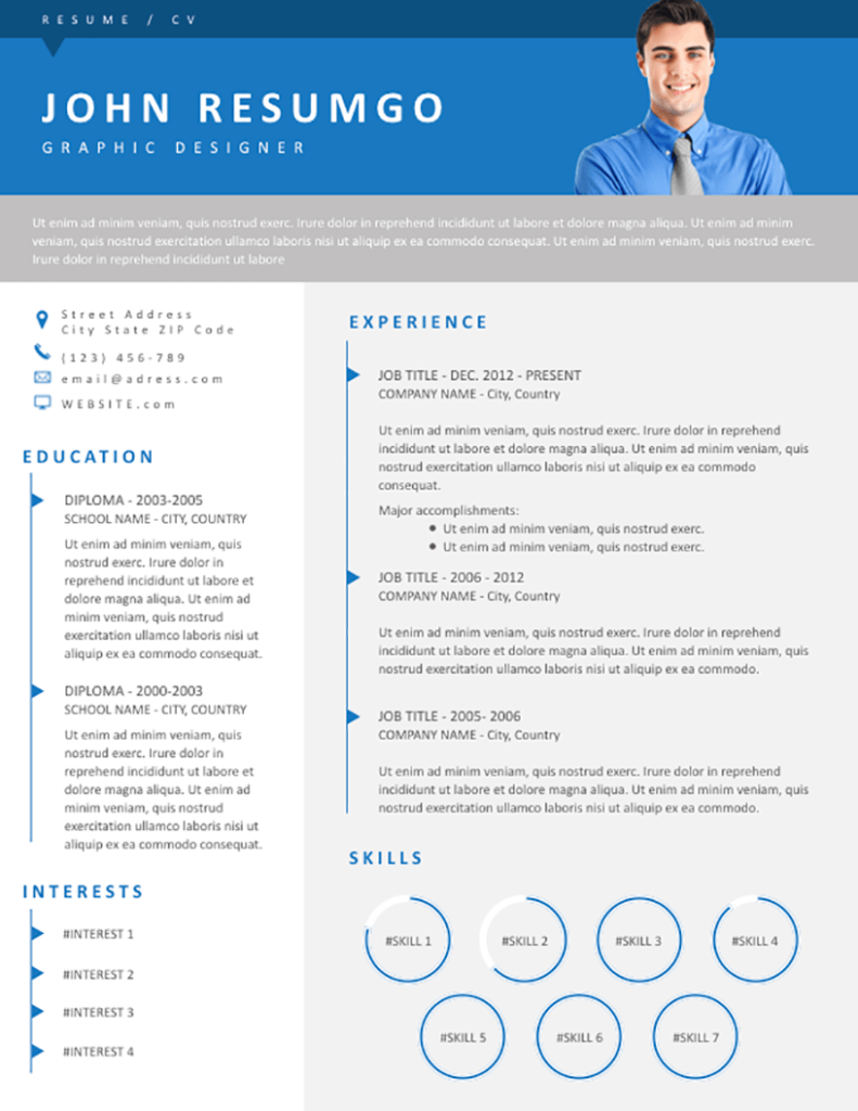 Urias - Free Resume Template - RESUMGO