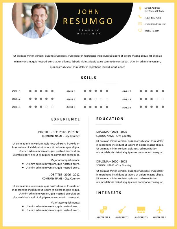 PARASKEVE - Free Resume Template - ResumGO
