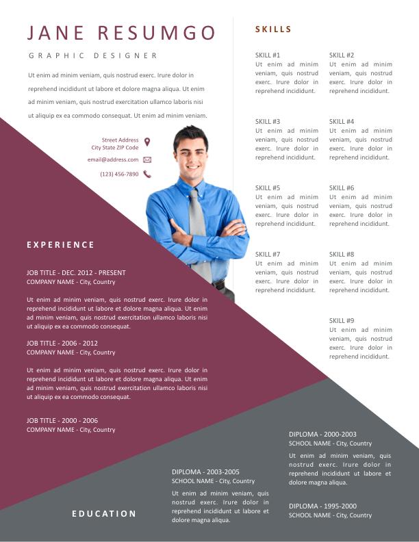 GREGORIOS - Free Resume Template - ResumGO