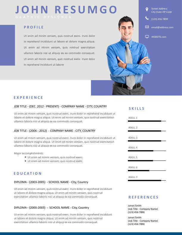 IOANNA - Free Resume Template - ResumGO