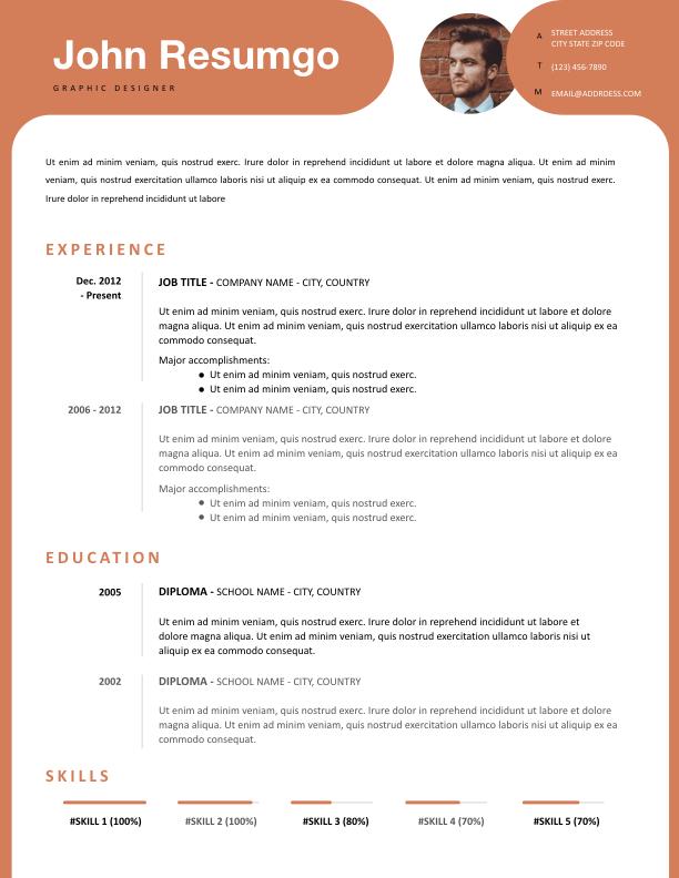 KALYPSO - Free Resume Template - ResumGO