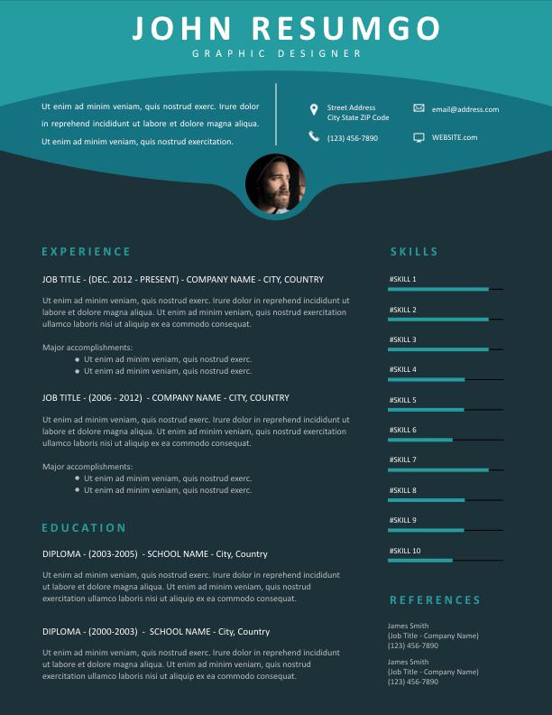 MAEJA - Free Resume Template - ResumGO