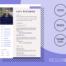 DANAE - Free Professional CV Template - ResumGO