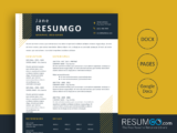 DORUS - Free Job-Winning Resume Template - ResumGO
