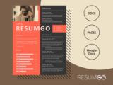 ADDA - Free Magazine Resume Template - ResumGO