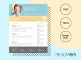LEFTERIS - Free Creative Resume Template with photo - ResumGO
