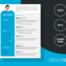 ALVALADE - Free Original Resume Template with photo - ResumGO