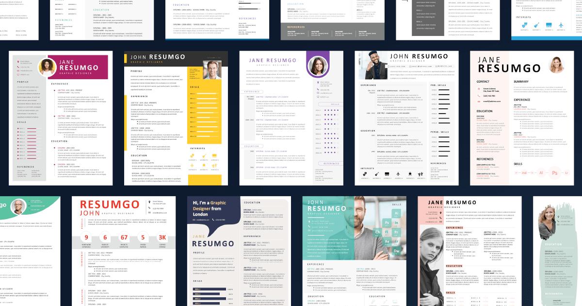 Free Resume Templates - ResumGO