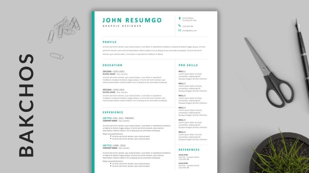 Bakchos - Clean Resume Template