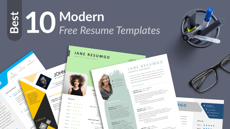 Best Free Modern Resume Templates