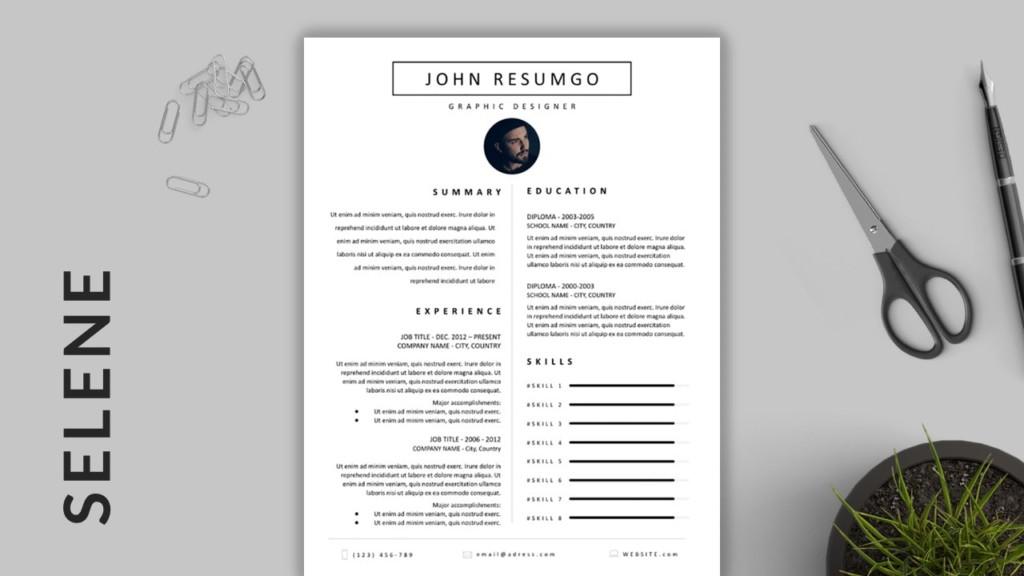 Selene - Classic Resume Template