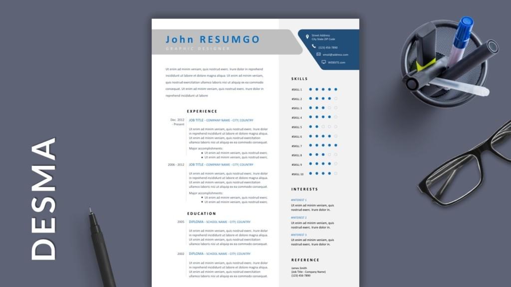 Winning Free Modern Resume Template