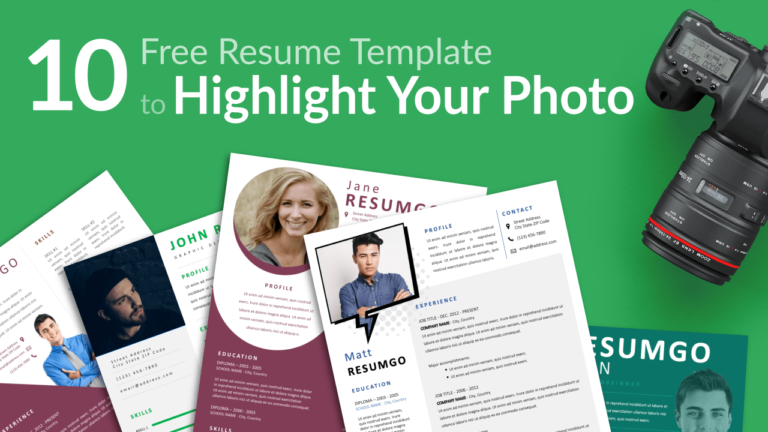 Best Resume Templates To Beautifully Highlight Your Photo