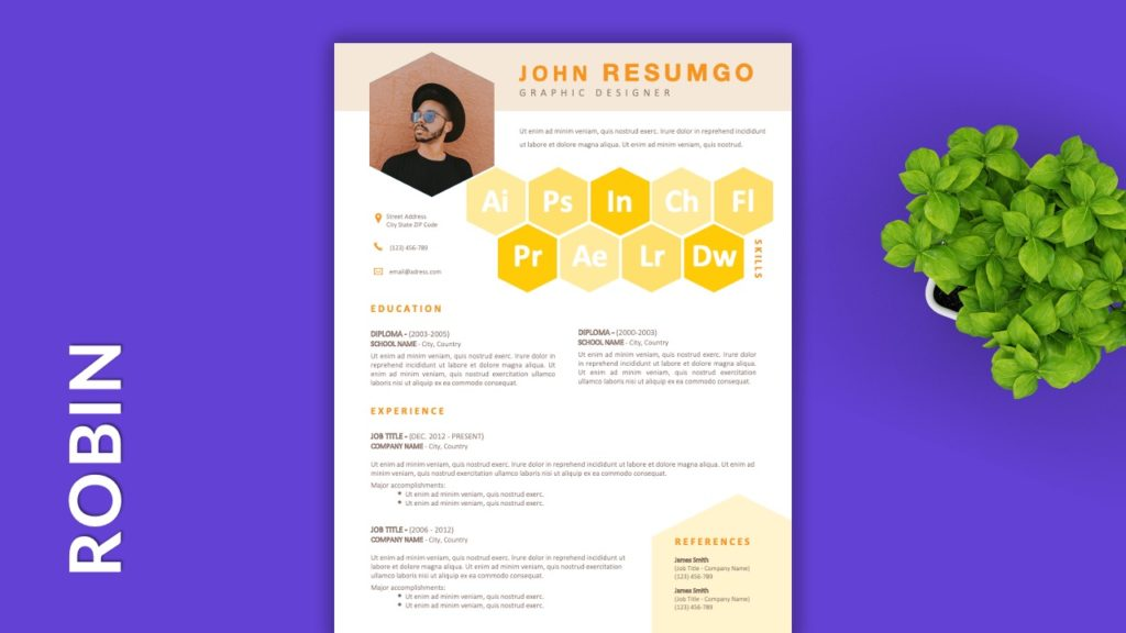 ROBIN - Free Resume Templates to Highlight your Skills